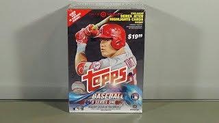 2018 Topps Series 1 Baseball Blaster Box Break! Nice!
