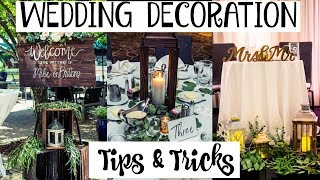 What I DIYed For My Wedding | Tips & Tricks