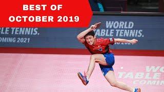 Best table tennis points October 2019 / Meilleurs points de tennis de table Octobre 2019