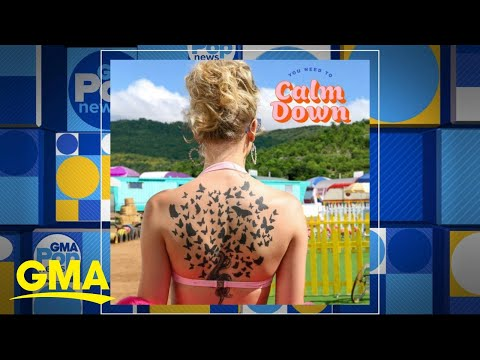 Taylor Swift drops new song, 'You Need to Calm Down' l GMA