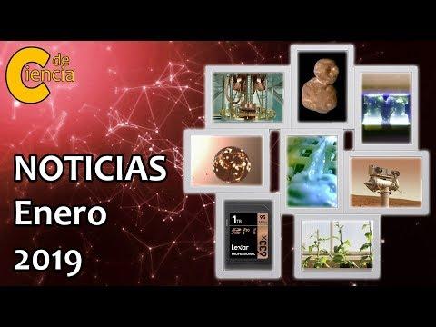 Noticias científicas enero 2019