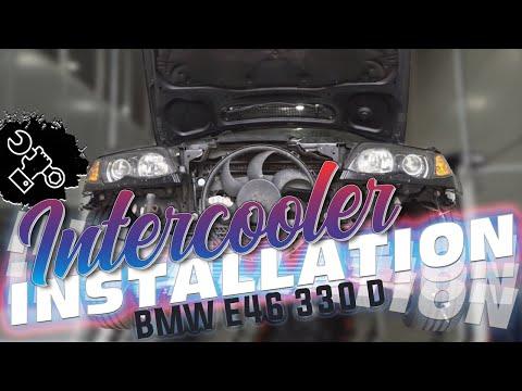 Wagner Tuning - BMW 330D Intercooler Installation