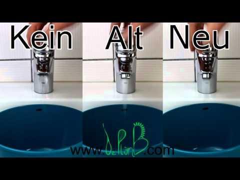 Wassersparstrahler Einbau und Vergleich | Wassersparen im Alltag