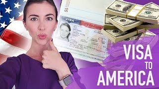 How I got my US visa and moved to America - cost, documents, timeline