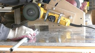 Homemade Angle Grinder Holder With Multi Functioning Action