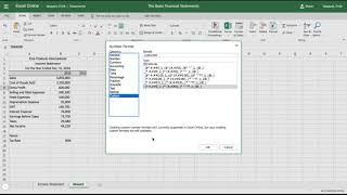 Excel Tutorial: How to Create an Income Statement