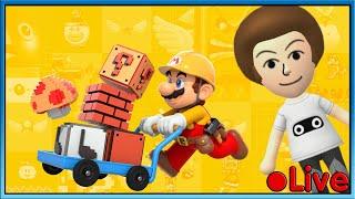 Mario Maker 2 - Popular Courses - 🔴 Live