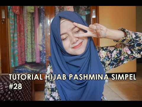 Video Tutorial Hijab Pashmina Simpel #28 - indahalzami