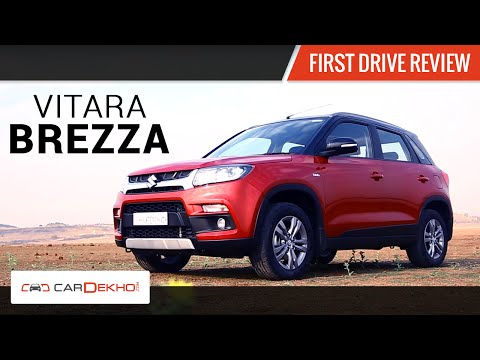 Maruti Vitara Brezza | First Drive Review
