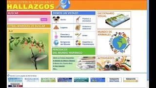 Enciclopedia Estudiantil Hallazgos – World Book online