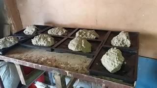 Фасадная плитка рваный камень своими руками
