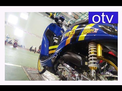 Video modifikasi Yamaha Fino fashion Advance motor kontes BOP