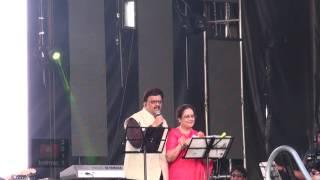 SPB 50 Grand Musical Tour in Toronto - S. P. B. introduces S. P. Sailaja on Stage
