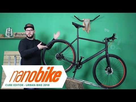 Cube Editor 2018  Urban Bike | Review