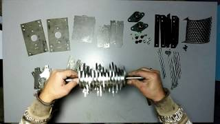 #01 Build The Shredder  Part. 1 Time-Lapse