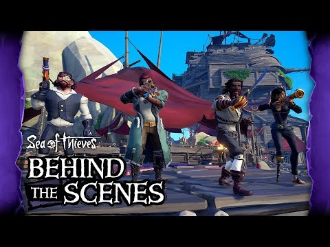 Official Sea of Thieves Behind the Scenes: Creating The Arena