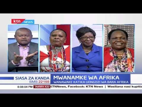 Mwanamke wa Afrika   Siasa za Kanda