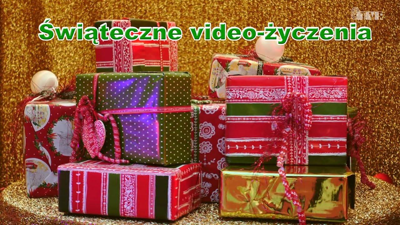Świąteczne video życzenia