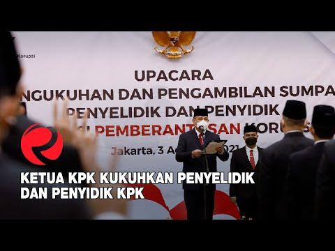 Ketua KPK Kukuhkan Penyelidik Dan Penyidik KPK
