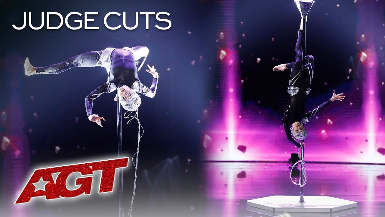 OMG! Marina Mazepa Will SHOCK You With These Extraterrestrial Moves - America's Got Talent 2019 thumbnail