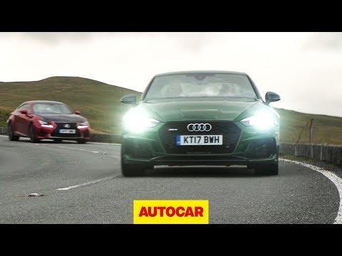 Audi RS5 vs Lexus RC F | better than a BMW M4 or Mercedes-AMG C63? | Autocar