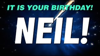 HAPPY BIRTHDAY NEIL! This is your gift.
