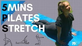 5 Minute Pilates Morning Stretch
