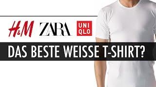 WER Hat Das BESTE Weisse T-SHIRT? H&M. Zara Oder Uniqlo?