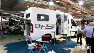 preview picture of video 'Salone del Camper 2013: Wingamm City Suite'