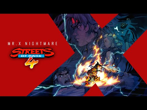 Streets of Rage 4 Mr. X Nightmare - Official Launch Trailer