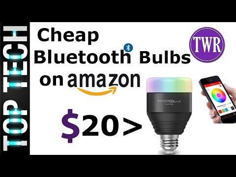 5 Cheap Smart Light Bulbs on Amazon Under $20 (only Bluetooth Bulbs)