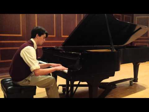 This is me back in high-school playing Un Sospiro by Franz Liszt.