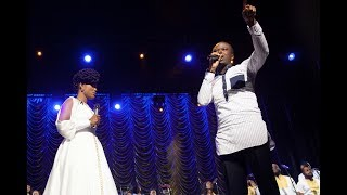 DEBORAH LUKALU Feat.LORD LOMBO   TU ES PUISSANTCALL ME FAVOUR LIVE |OFFICIAL VIDEO|
