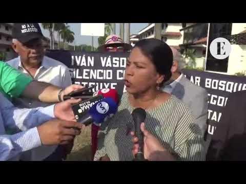 Residentes piquetean al MOP para exigir suspensión de la vía Omar Torrijos
