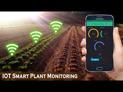 IOT Smart Plant Monitoring System   Smart Irrigation