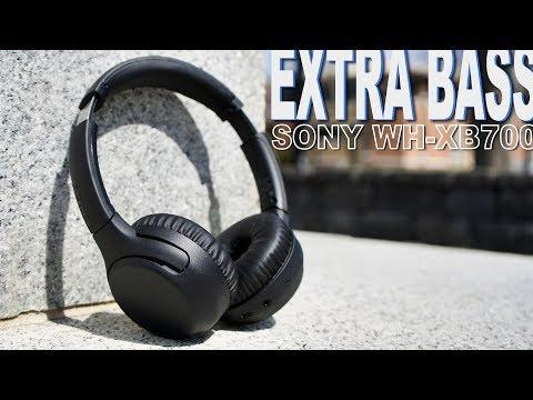 Sony WHXB700B.CE7 BT slušalice recenzija