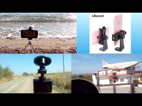 AT463 Suction Cup & Ulanzi Smartphone Tripod Bracket Mounts Hands-On and Testing