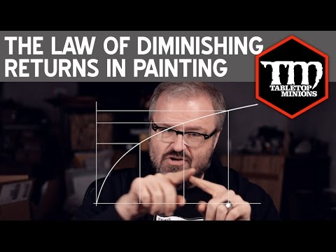 The Law of Diminishing Returns in Hobby Painting