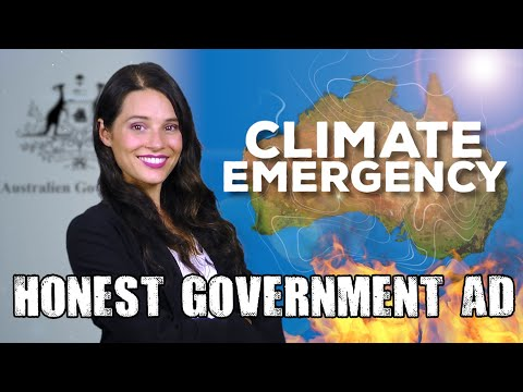 Honest Government Ad | Climate Emergency & School Strikes