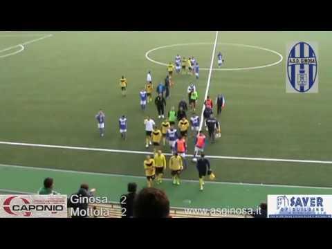 Preview video GINOSA-MOTTOLA 2-2 Pareggio beffa per il Ginosa