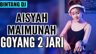 DJ MAIMUNAH DI TIKUNG JAMILAH GOYANG 2 JARI 2018 MELODY BASS 1