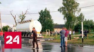 Страшное ДТП в Брянской области: под колесами грузовика погибли двое подростков