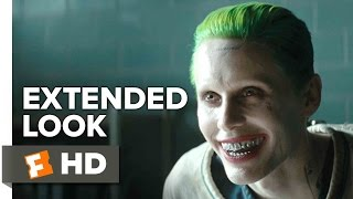Suicide Squad  Joker Extended Look 2016  Jared Leto Movie