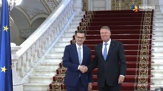Premierul polonez, primit de preşedintele Klaus Iohannis