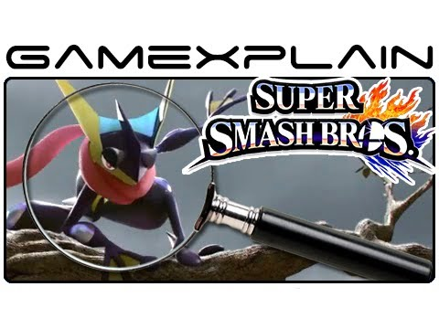 Super Smash Bros. Analysis: Greninja Trailer (Secrets & Hidden Details - Wii U & 3DS)