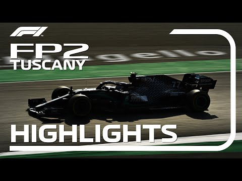 F1 2020 第9戦トスカーナGP(ムジェロサーキット)フリープラクティス2ハイライト動画