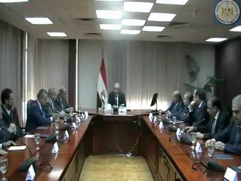 اجتماع الوزير/طارق قابيل مع مجلس الاعمال المصرى الاردنى المشترك