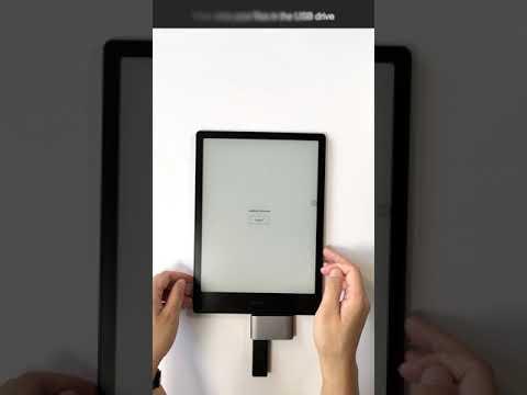 Onyx Boox USB C Hub, OTG/TF/SD Smart Card Reader