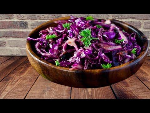Салат к гарниру за 10 минут