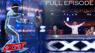 SPYROS BROS: Filipino Diabolo Duo Perform AMAZING Tricks Over the Judges' Desk - FULL EPISODE